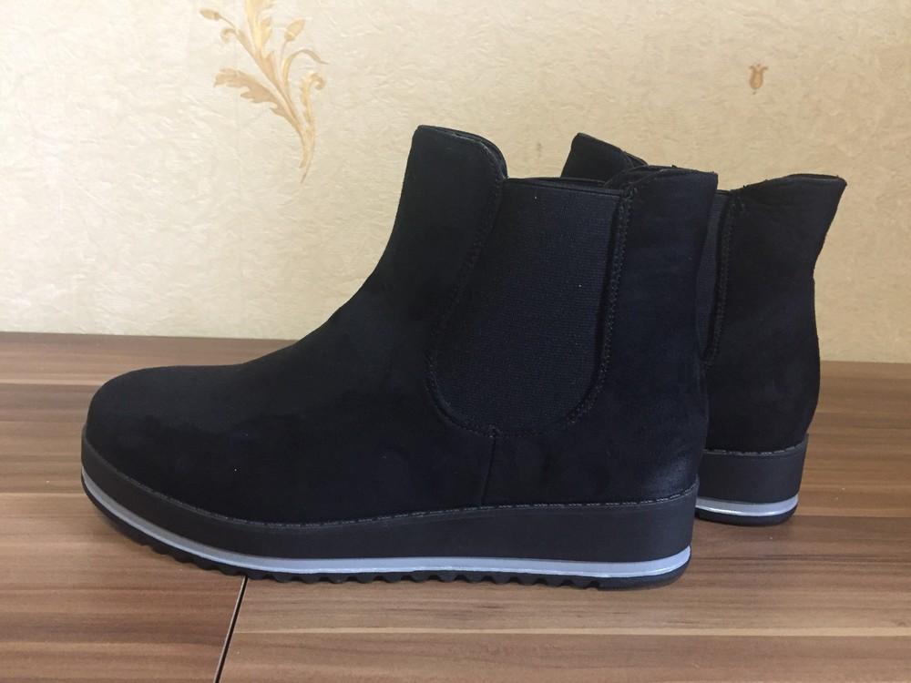 Стильні черевички фірма jumex розмір 39 маломірки фото №1