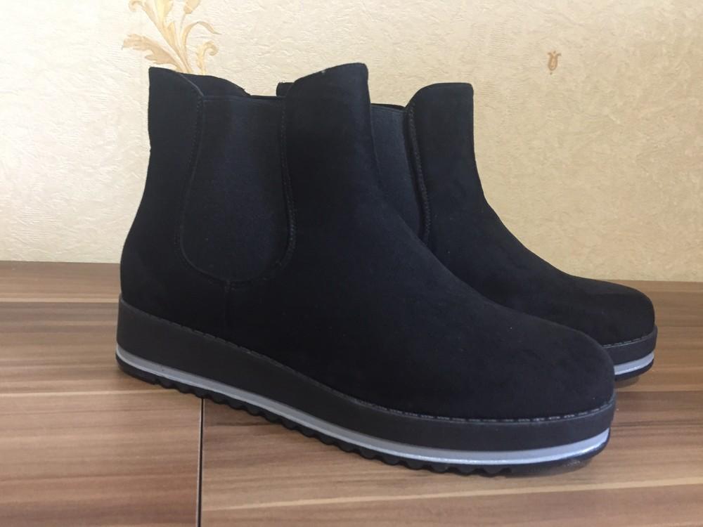 Стильні черевички фірма jumex розмір 39 маломірки фото №2