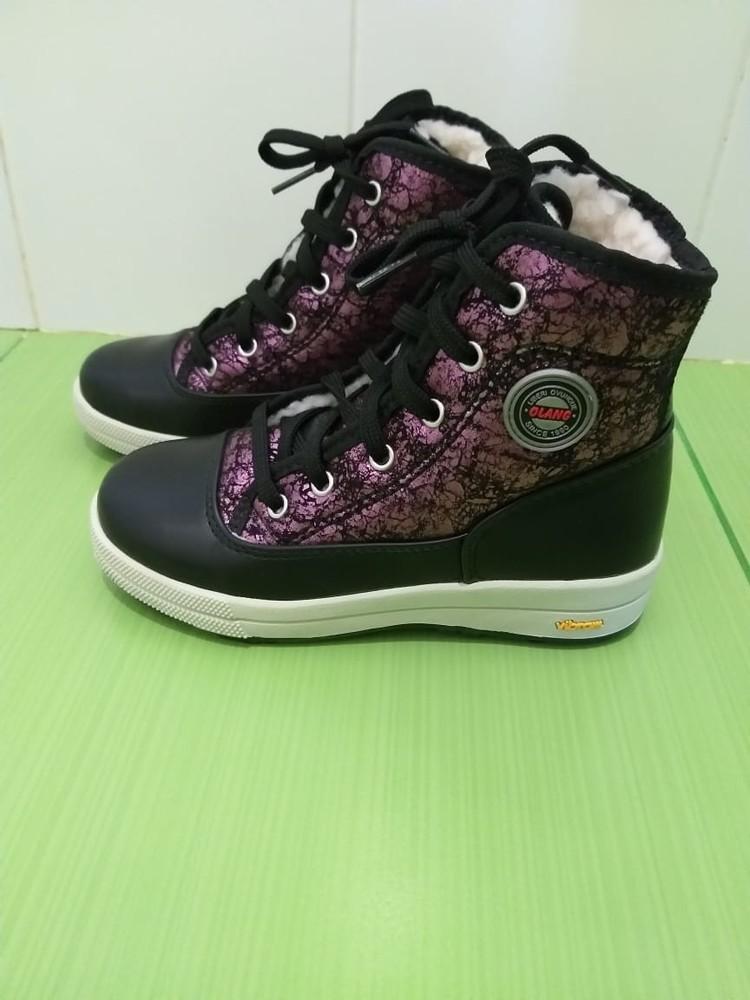 Фирменные ботинки olang италия фото №1