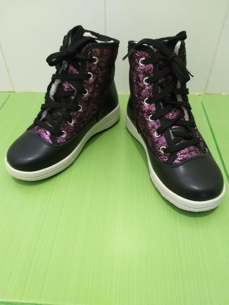 Фирменные ботинки olang италия фото №2