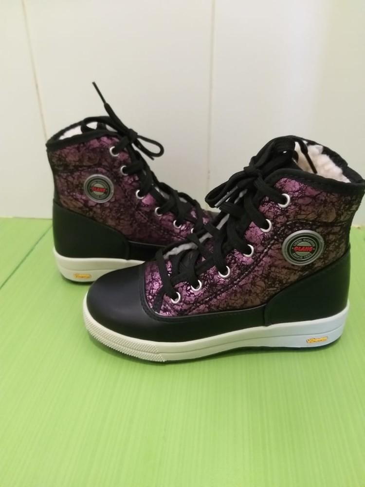 Фирменные ботинки olang италия фото №3