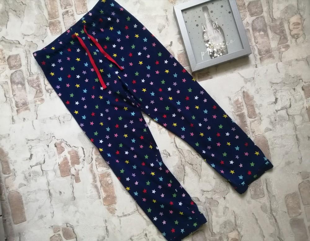 Хлопковые штаны m&s на 5 лет фото №1