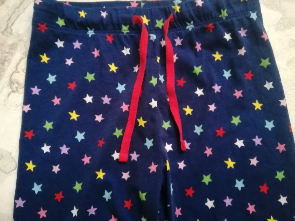 Хлопковые штаны m&s на 5 лет фото №2