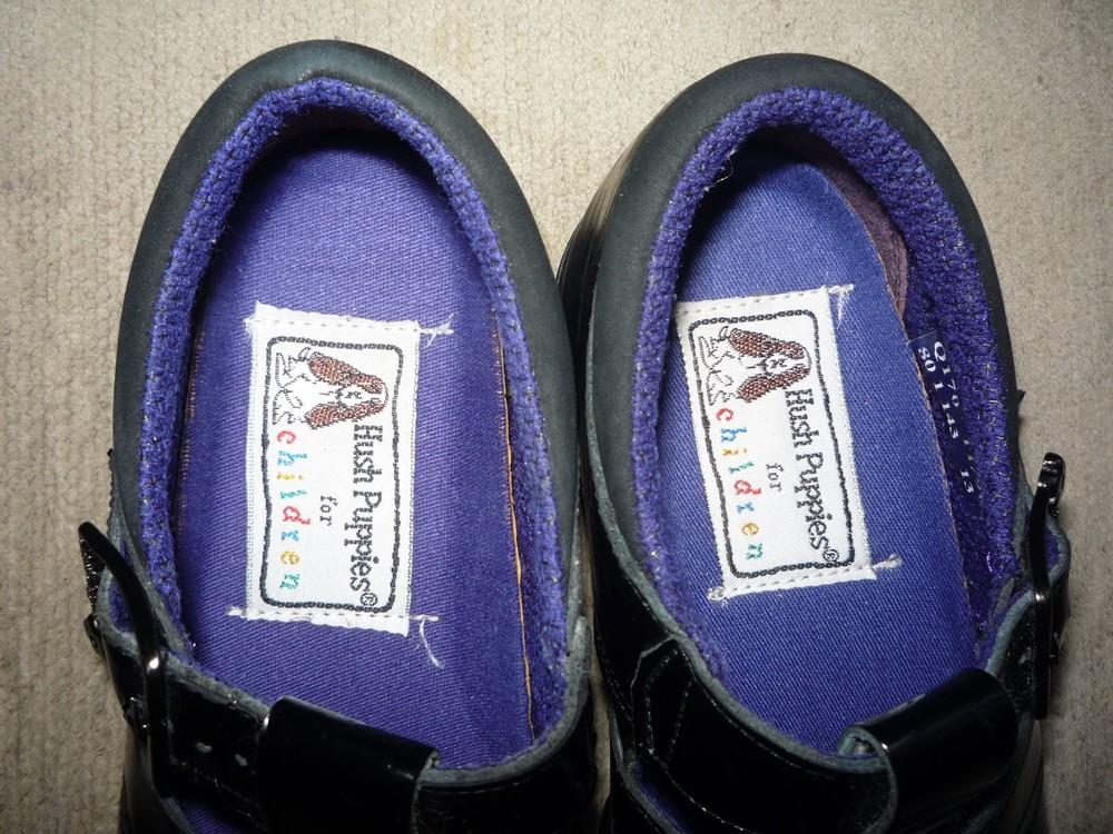 Туфельки в школу для девочки р. 30-31 hush puppies фото №5