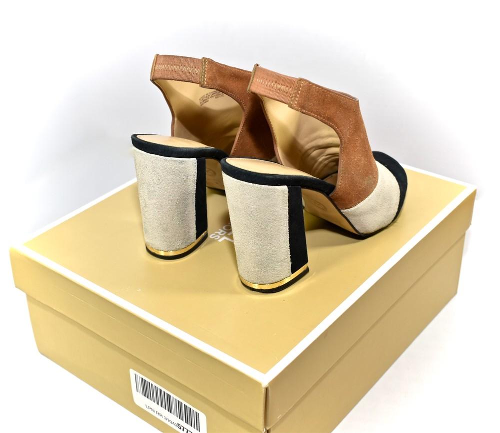 Michael kors. замшевые босоножки майкл корс. anise open toe фото №6