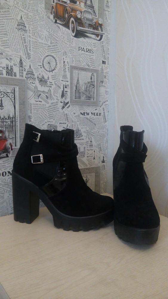 Супер осенние ботинки фото №2