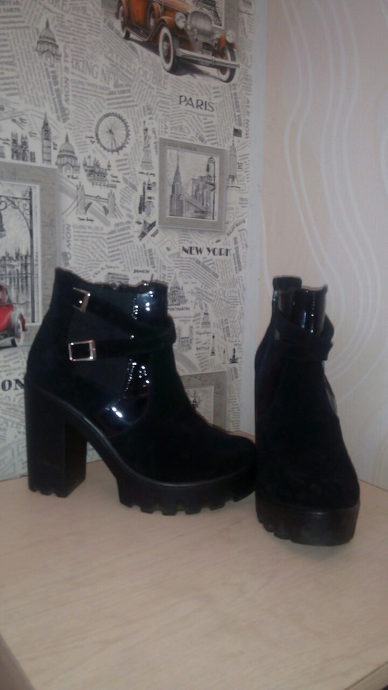 Супер осенние ботинки фото №4