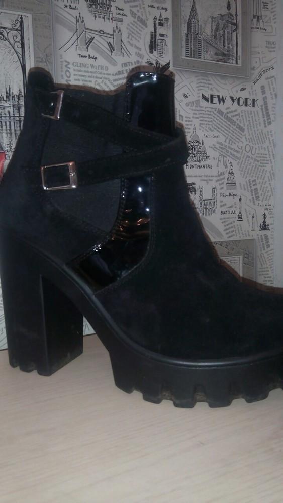 Супер осенние ботинки фото №1