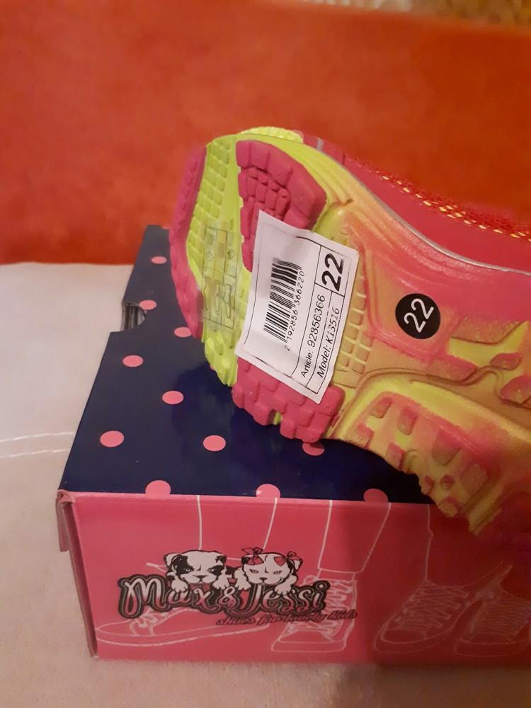 Кроссовки max&jessy for kari 22 размер, 14,3 по стельке фото №5