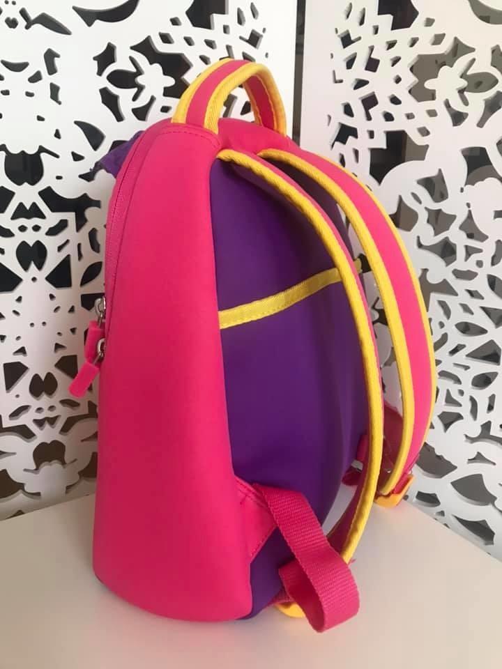Upixel - рюкзак сова owl - с пикселями - яркий, вместительный фото №3