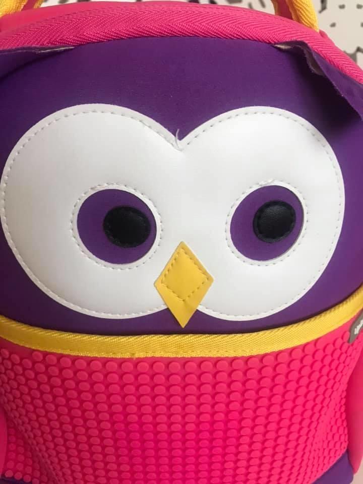 Upixel - рюкзак сова owl - с пикселями - яркий, вместительный фото №7