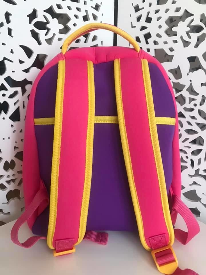 Upixel - рюкзак сова owl - с пикселями - яркий, вместительный фото №8