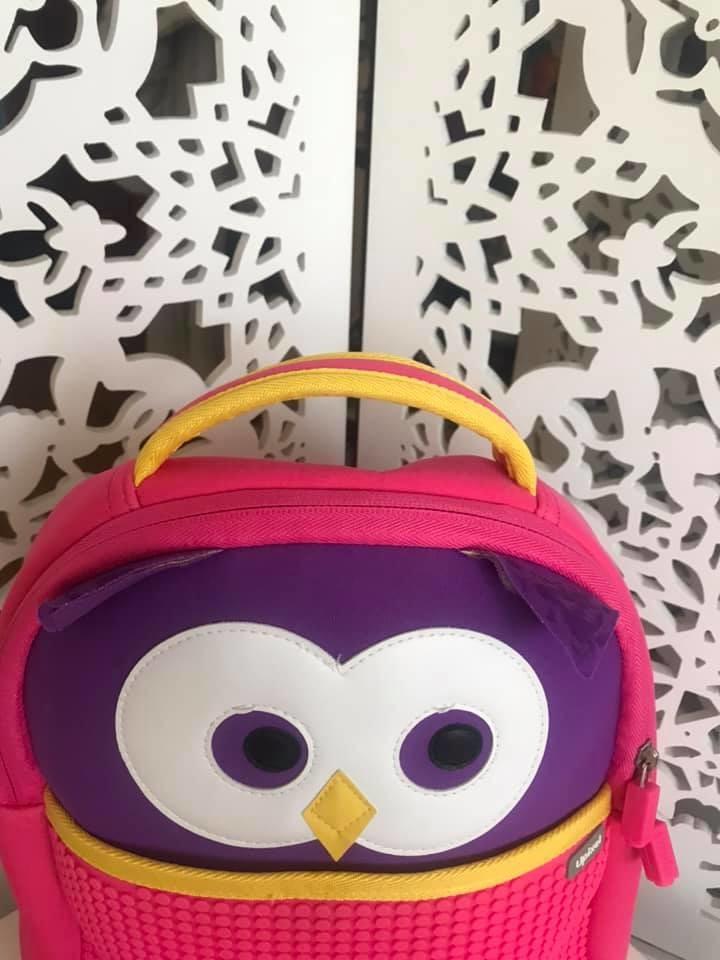 Upixel - рюкзак сова owl - с пикселями - яркий, вместительный фото №10