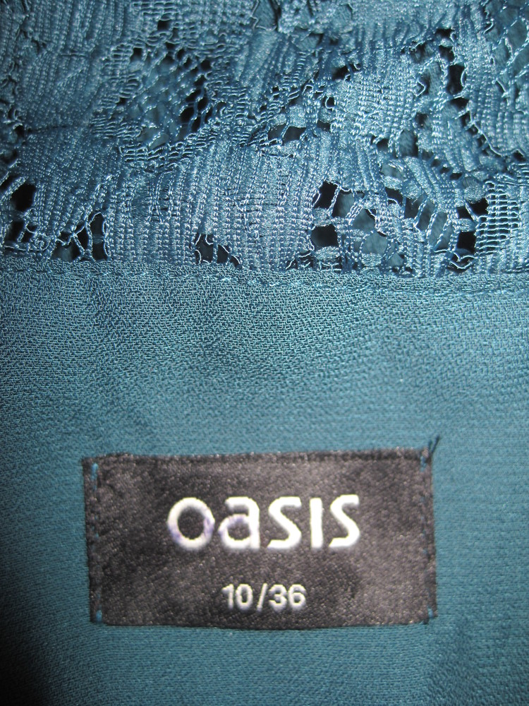 Платье для девочки. на рост 158 см., (см. замеры). oasis. в отличном состоянии. фото №5