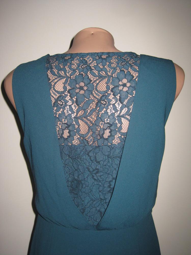 Платье для девочки. на рост 158 см., (см. замеры). oasis. в отличном состоянии. фото №2