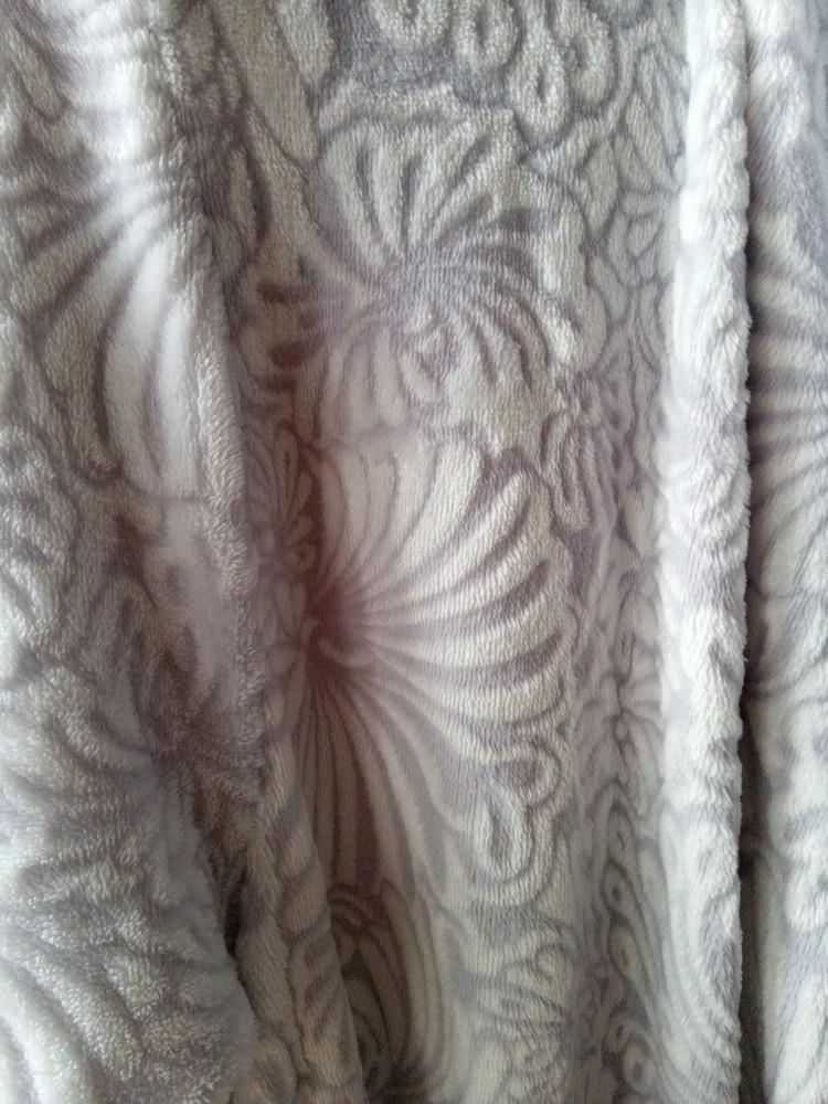 Женский флисовый халат р.50 фото №5