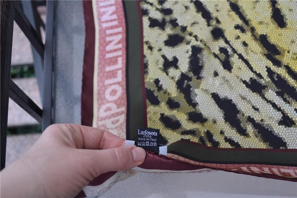 Платки pollini women's 100% silk ,оригинал фото №10