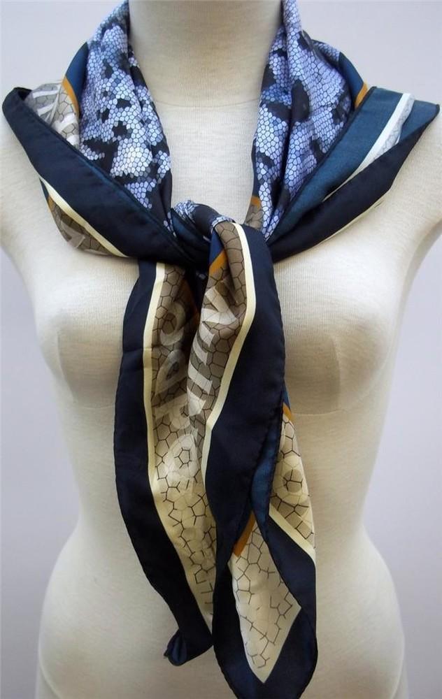 Платки pollini women's 100% silk ,оригинал фото №2