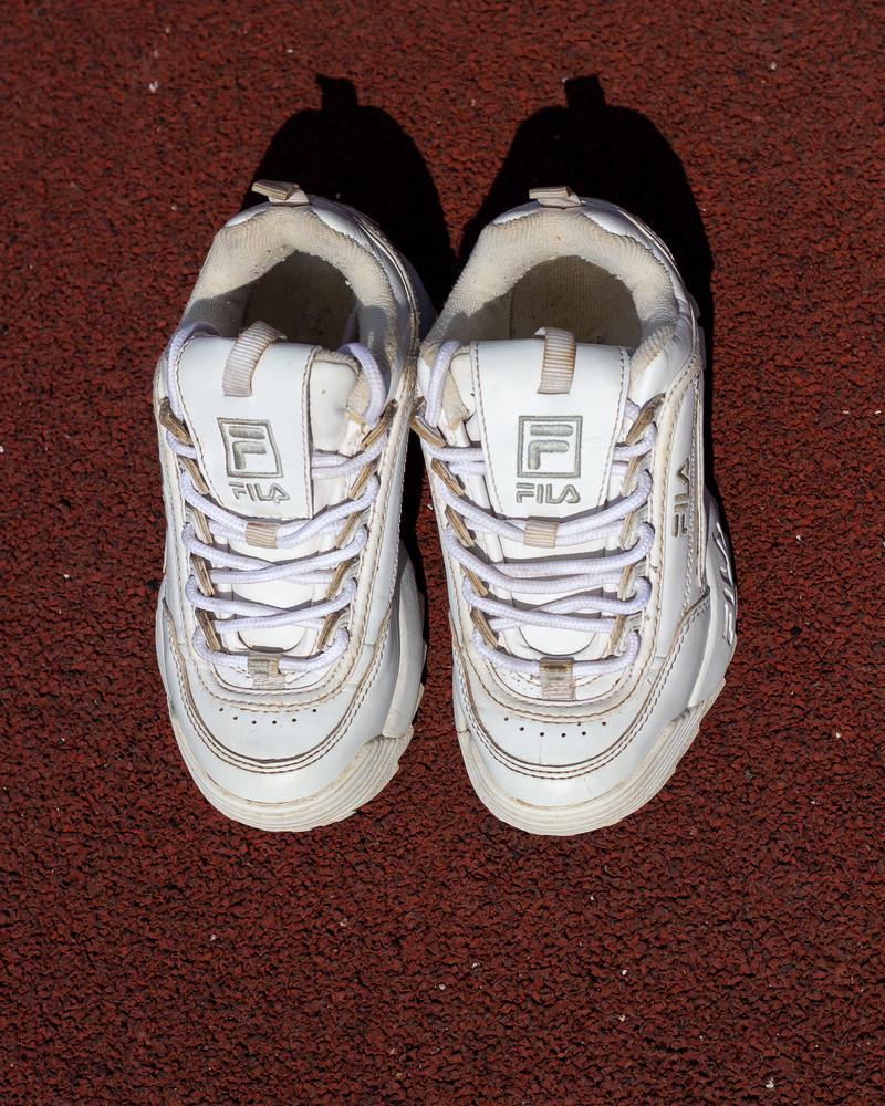 Оригинальные кроссовки fila (31 р) фото №4
