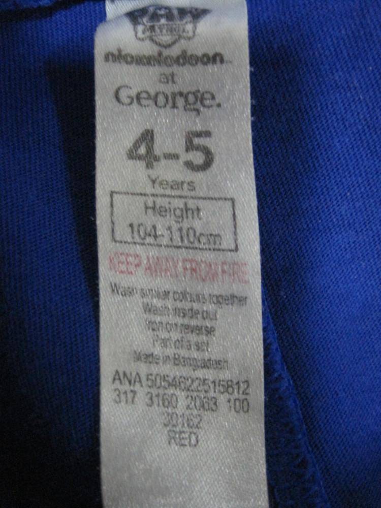 1/159. штаны пижамные для мальчика. на 4-5 лет, рост 110 см. george. в отличном cостоянии! фото №4