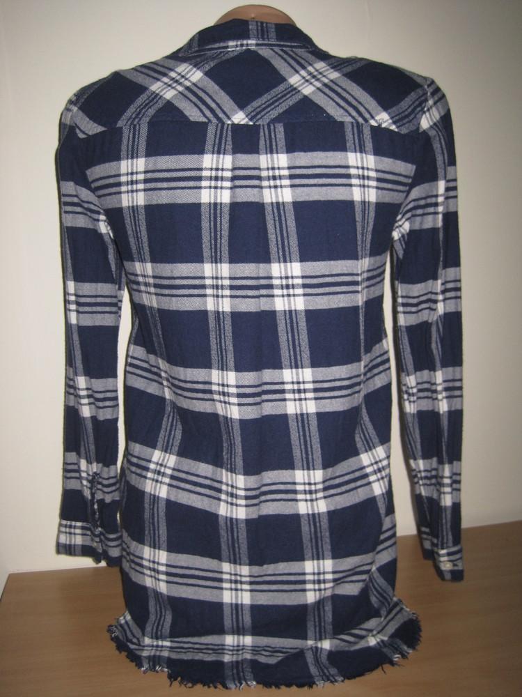 1/306. рубашка для девочки. на 10-11 лет, 146 см. (см. замеры). h&m. в отличном состоянии! фото №3