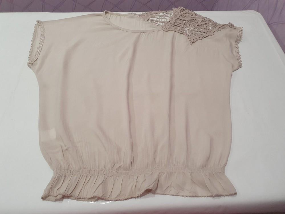 Итальянская женская футболка блузка unica. новая! в наличии два цвета фото №3