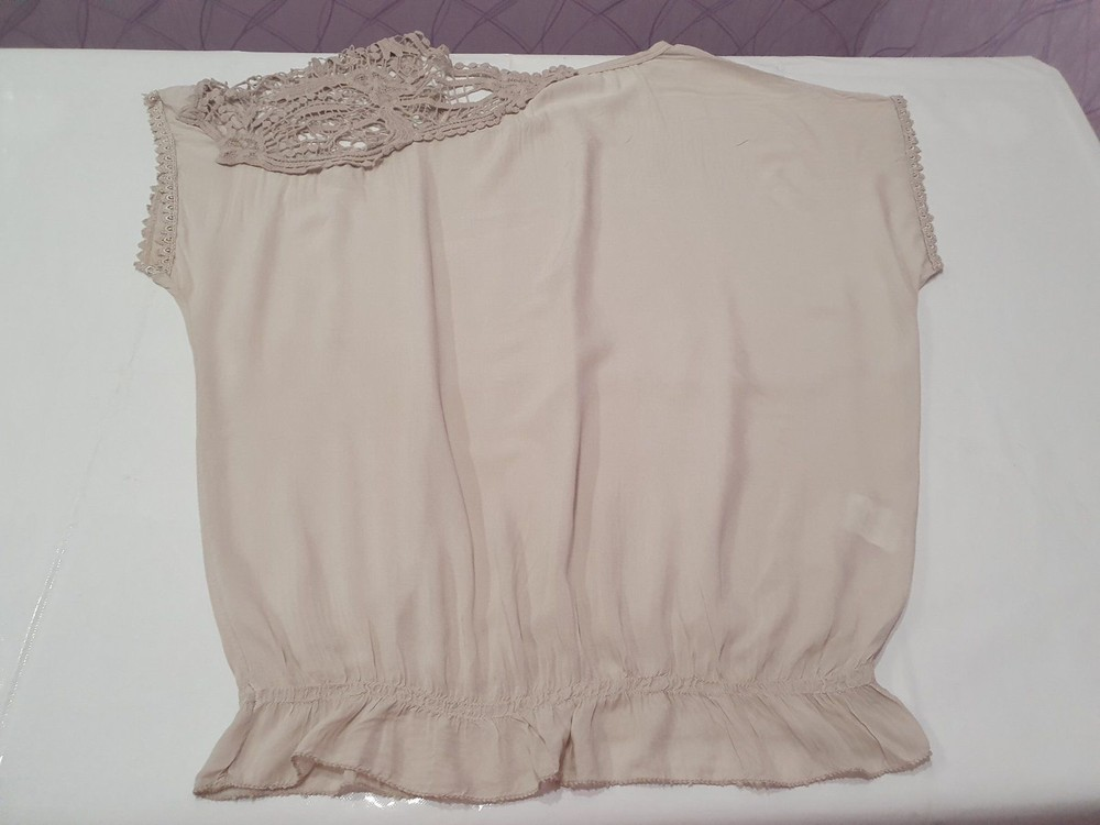 Итальянская женская футболка блузка unica. новая! в наличии два цвета фото №4