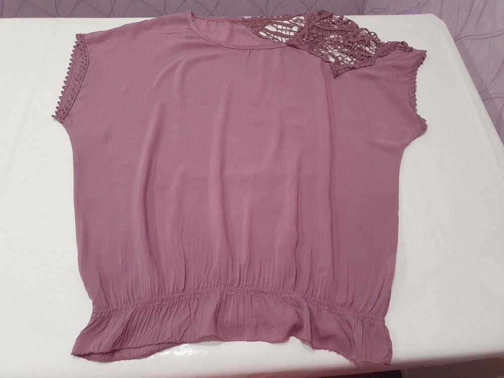 Итальянская женская футболка блузка unica. новая! в наличии два цвета фото №7