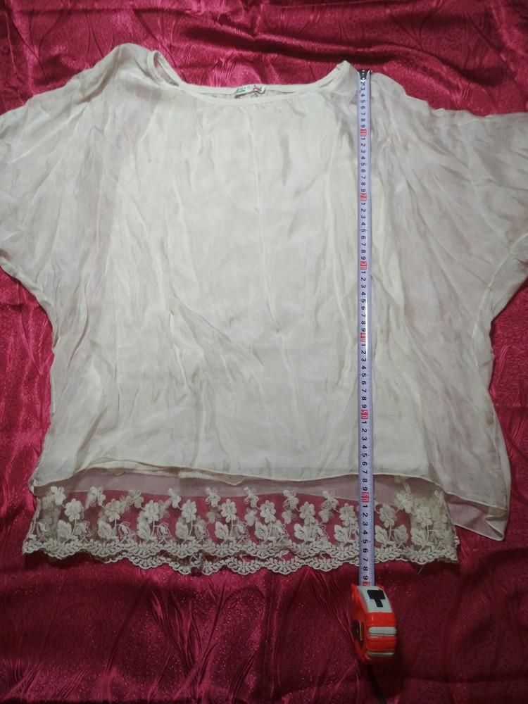 Очень нарядные блузки. италия. в лоте одна фото №6