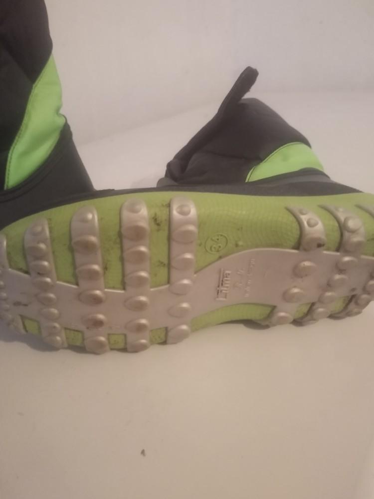 Резиновые сапоги размер 34 с утеплителем. литма фото №2