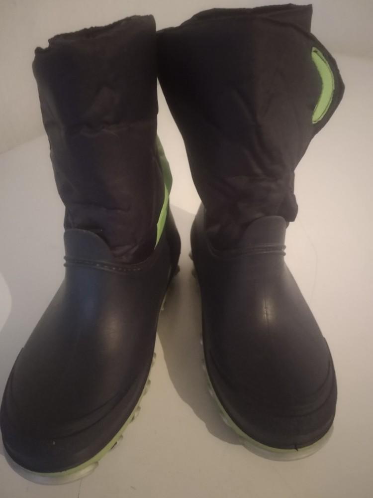 Резиновые сапоги размер 34 с утеплителем. литма фото №3